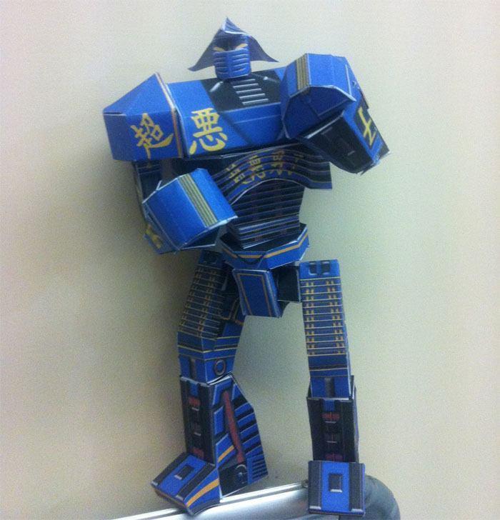 Бумажная модель Нойзи Бой (Живая сталь) [средняя сложность ...